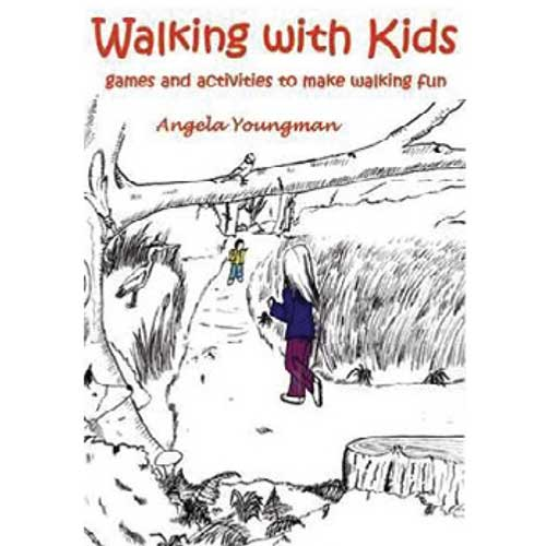 Walking with Kids by Angela Youngman book cover