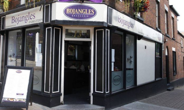 Bojangles restaurant, Congleton.