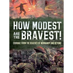 How modest are the bravest book cover