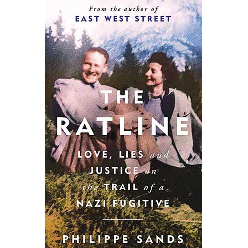 The Ratline by Philippe Sands book cover