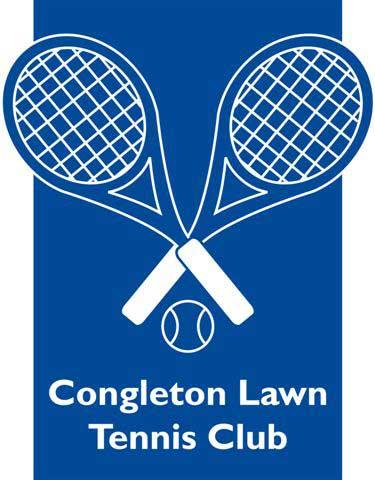 Congleton Lawn Tennis Club logo.