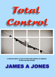 James A Jones book 'Take Control' front cover