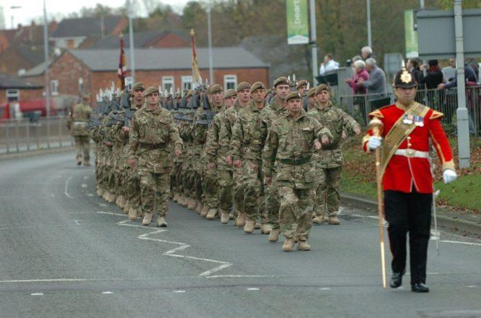 2 Mercian Regiment.