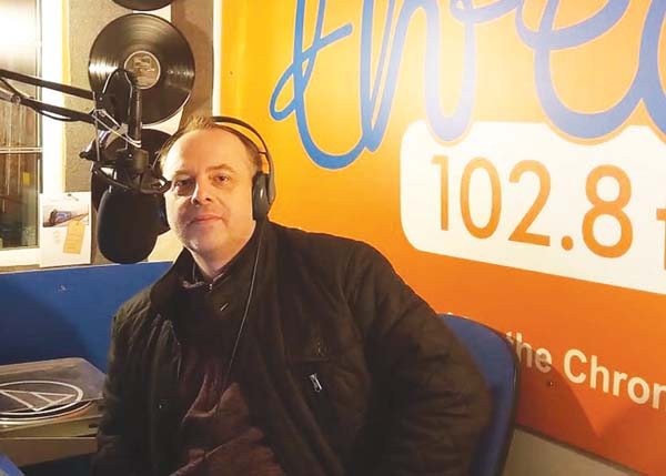 Stuart Nield at Canalside Radio.