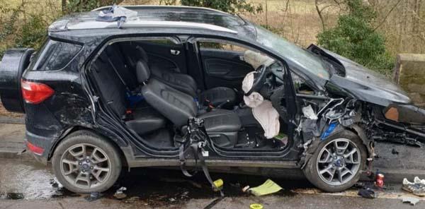 Monks heath crash.