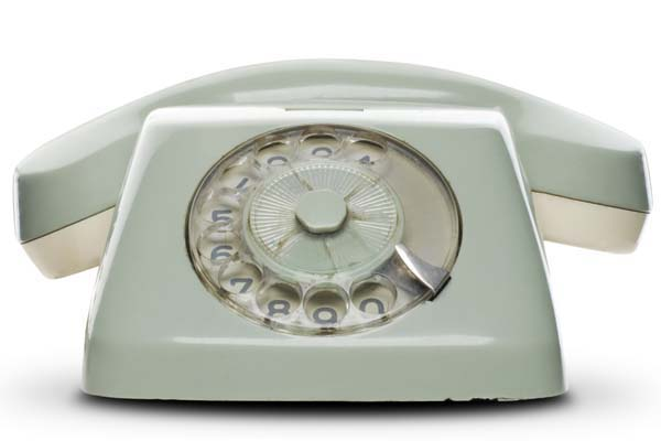 Telephone scam.