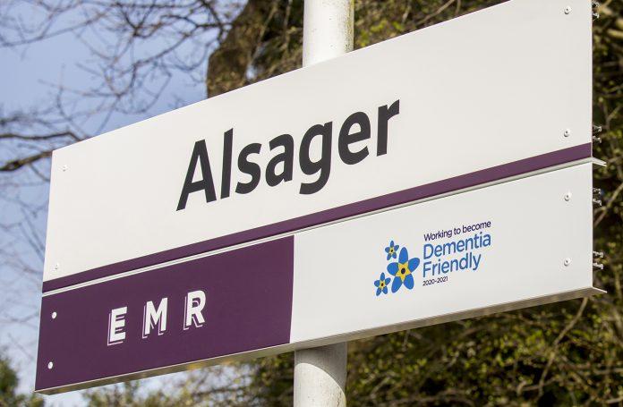 Alsager station.