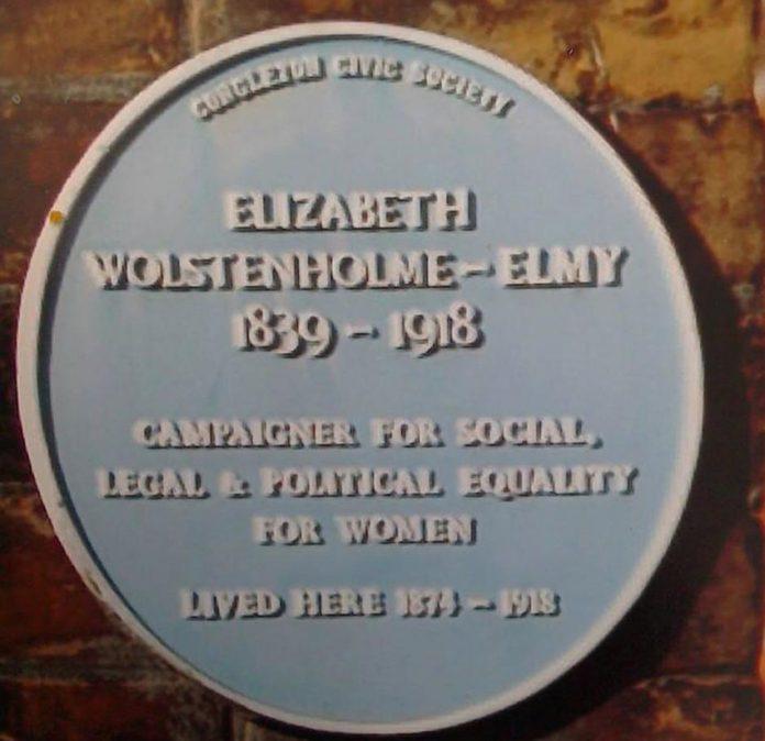 Elizabeth Wolstenholme Elmy.