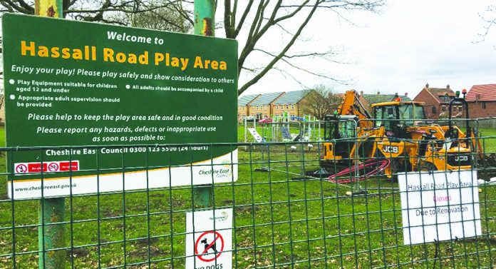 Hassall Road Play area.