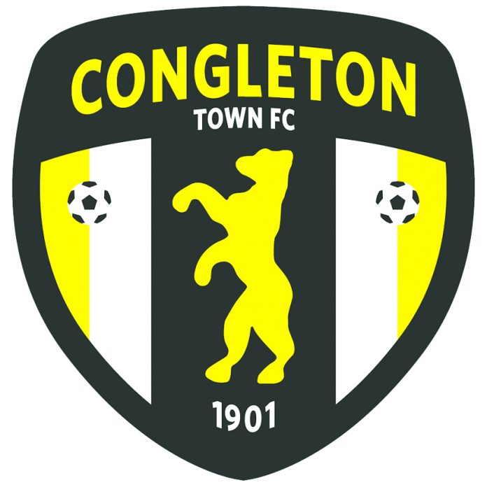 Congleton Town FC logo.