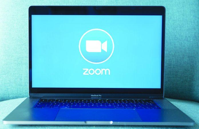 Zoom home screen