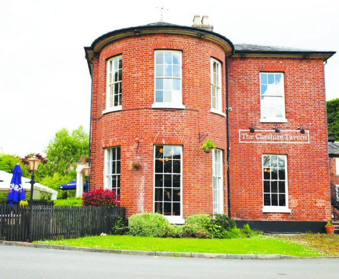 The Cheshire Tavern.