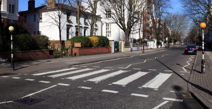 Alsager zebra crossing.
