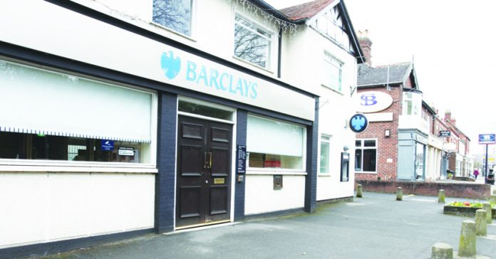 The site of Barclays Bank in Alsager.