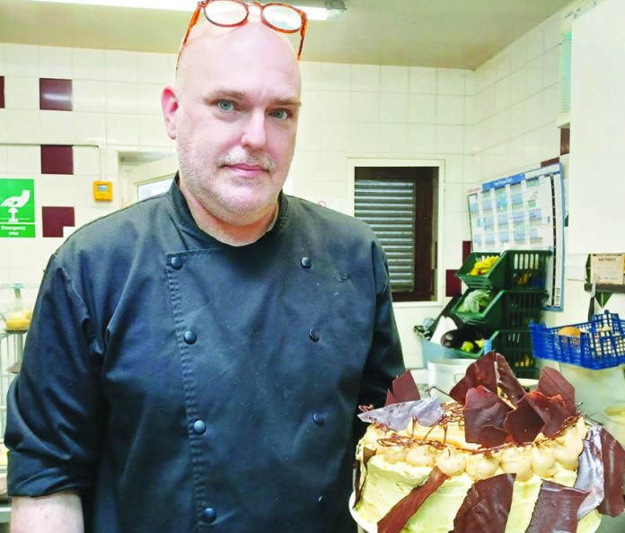 Chef Nick Mason.