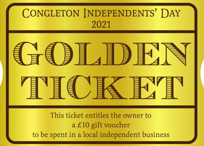 One of the golden tickets