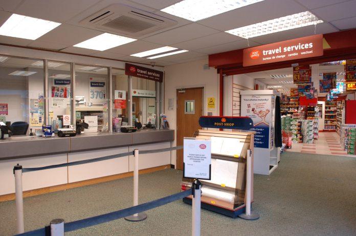 Congleton post office.