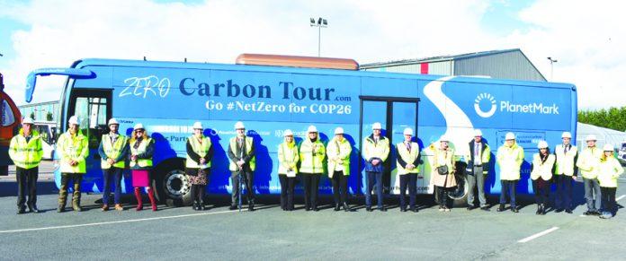 carbon battle bus.