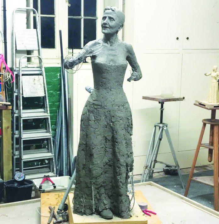 Elizabeth Wolstenholme Elmy statue