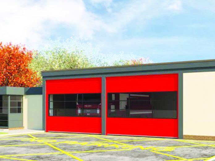 Congleton fire station.