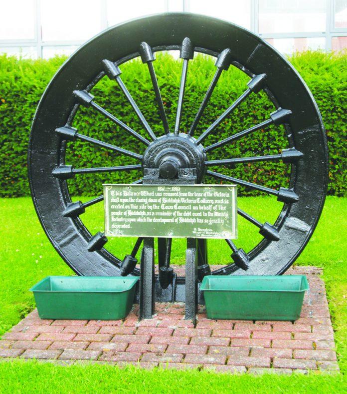 Biddulph miners' wheel